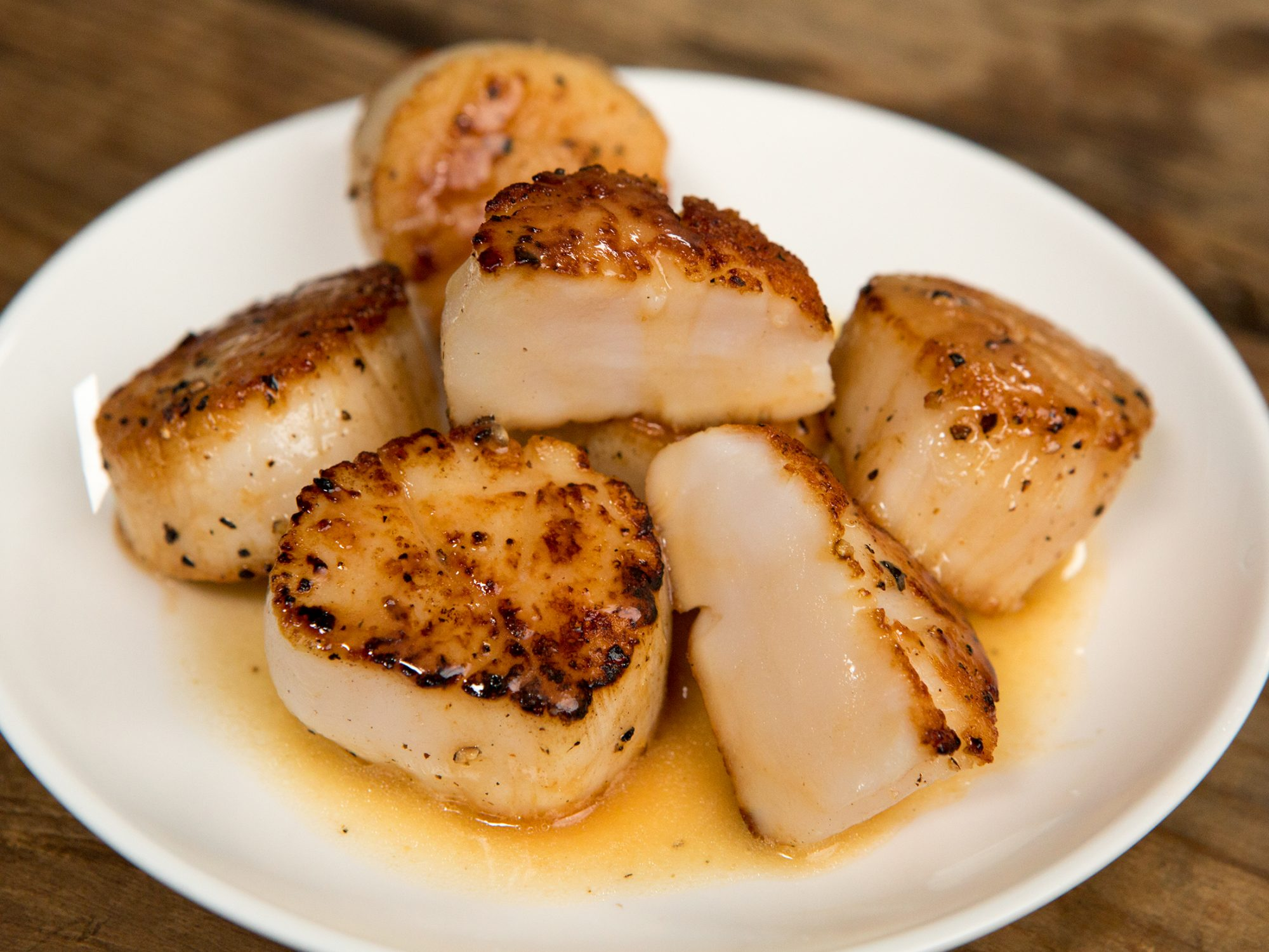 Perfectly Seared Scallops image
