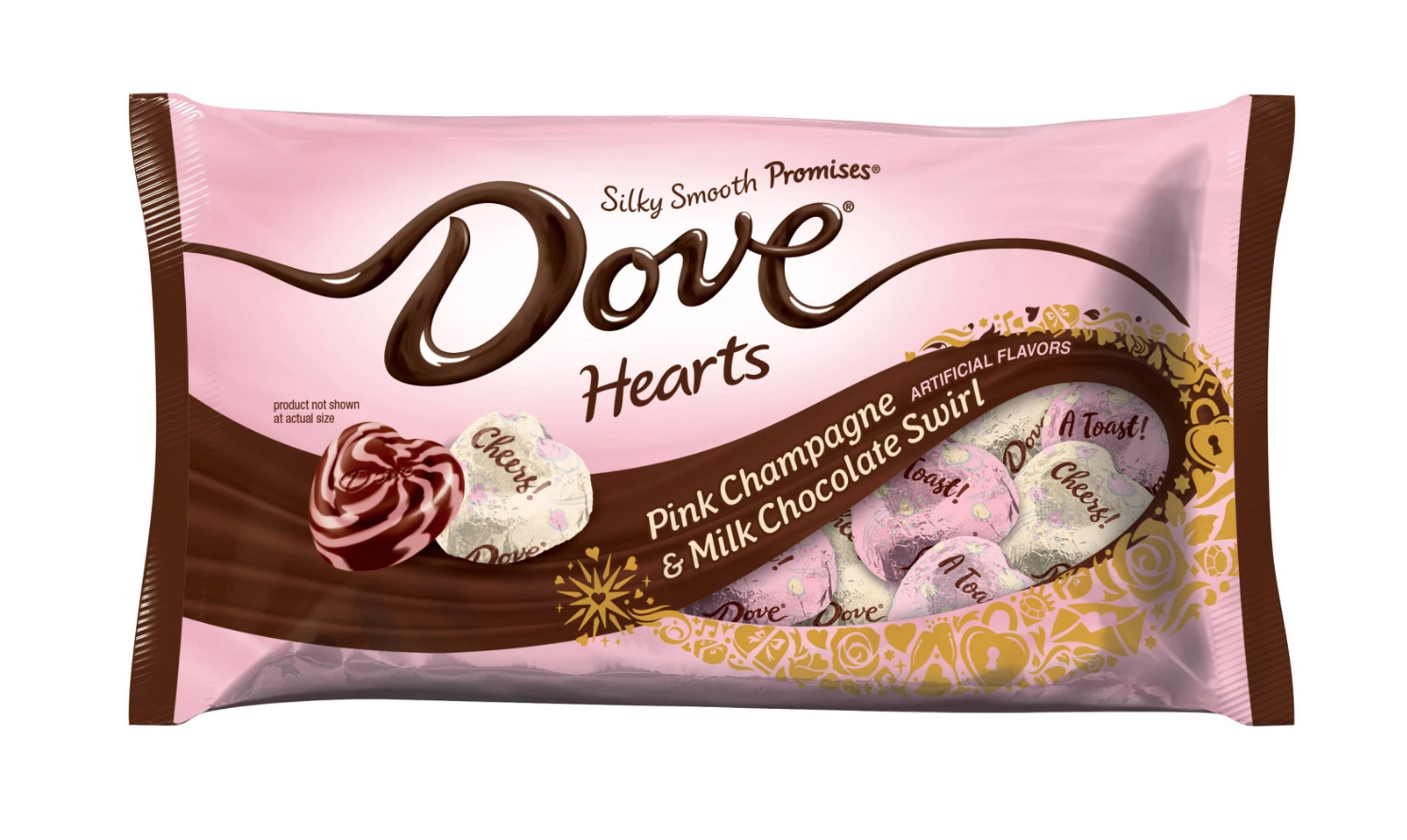 pink champagne dove