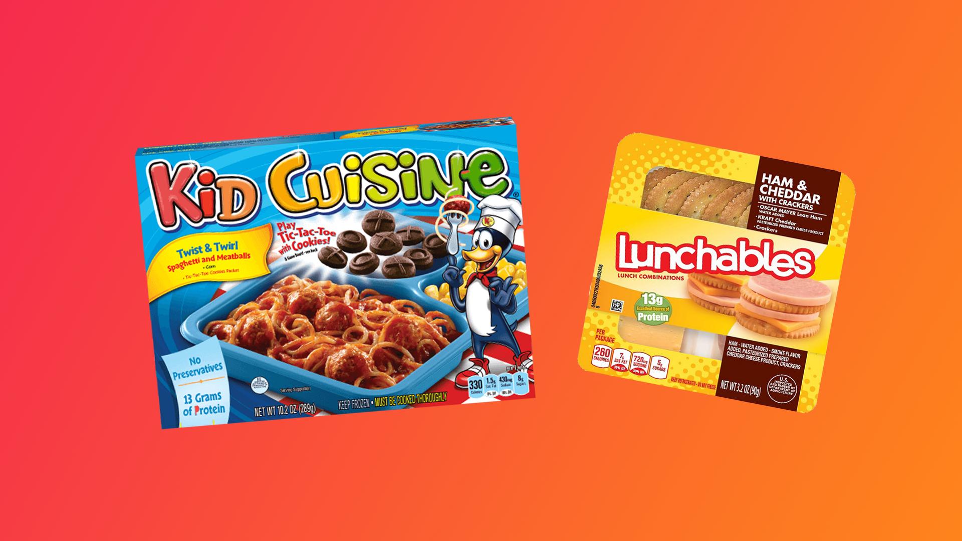lunchables kid cuisine 2