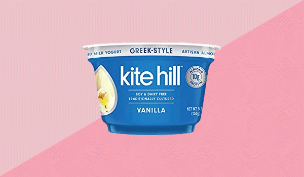 Kite Hill Greek-Style Vanilla Artisan Almond Milk Yogurt