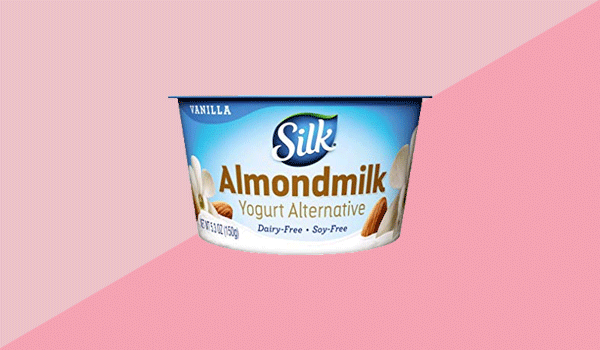 Silk Almond Dairy-Free Vanilla Yogurt Alternative