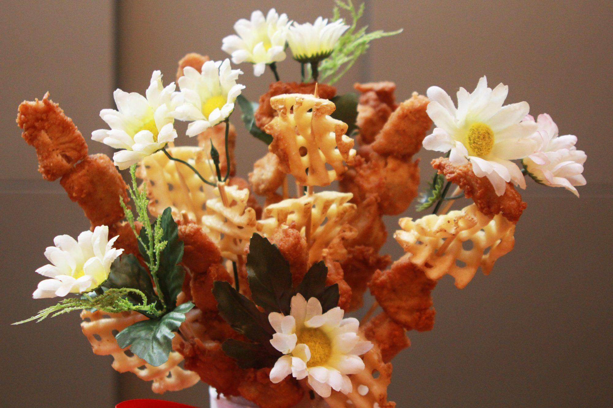 chicken nugget bouquet