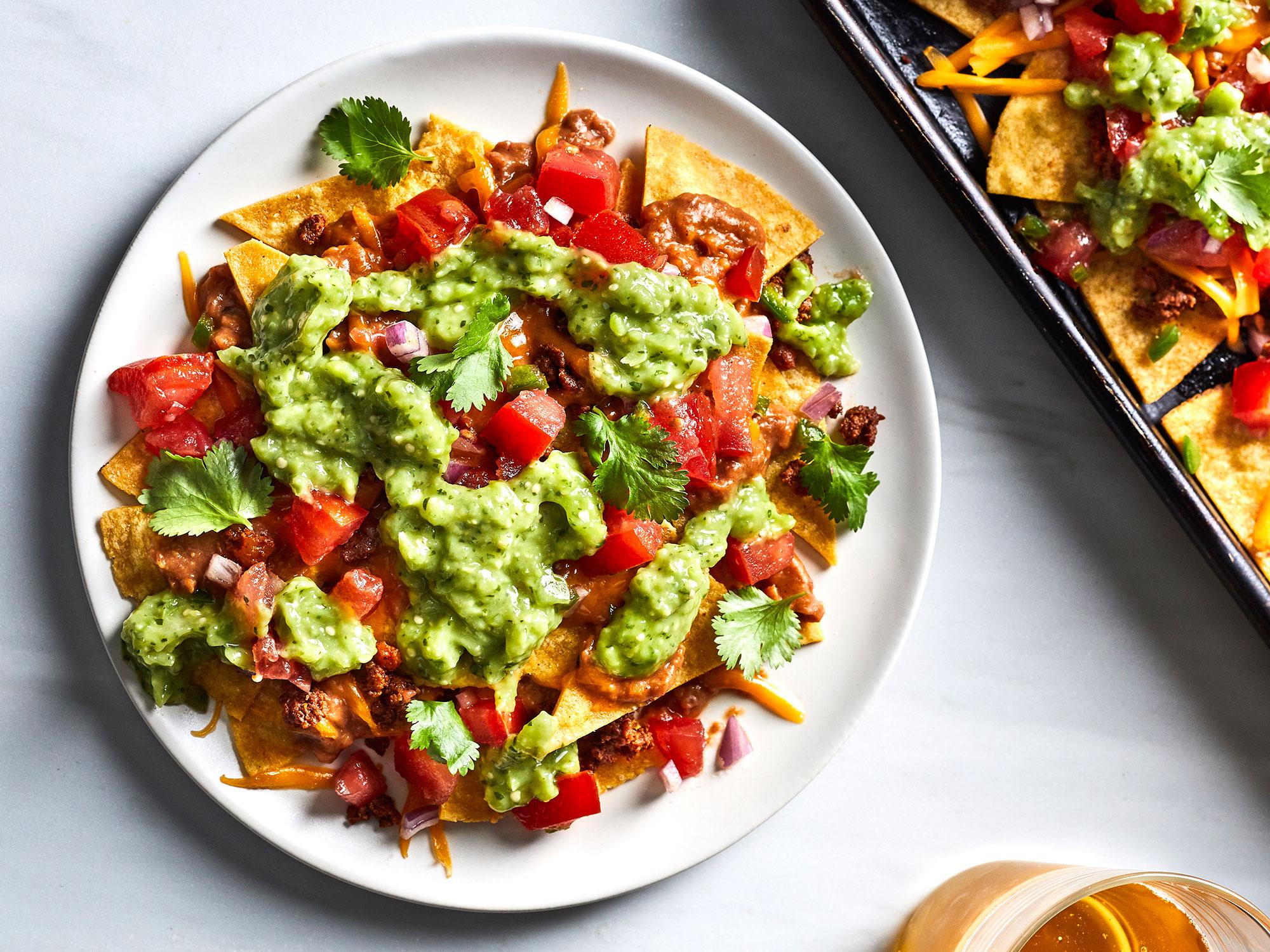 Chili-Chorizo Nachos