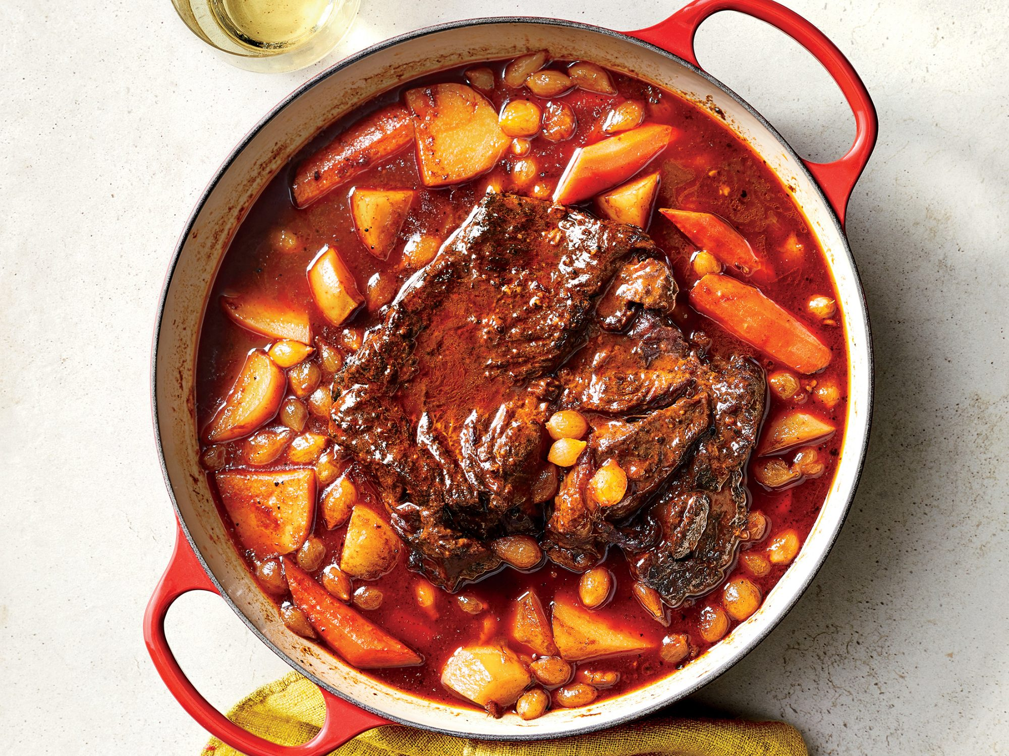 Oven-Braised Pot Roast