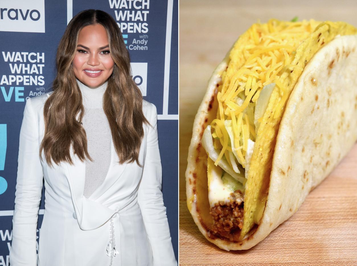 Chrissy Teigen's Taco Bell Idea Makes a Lot of Sense