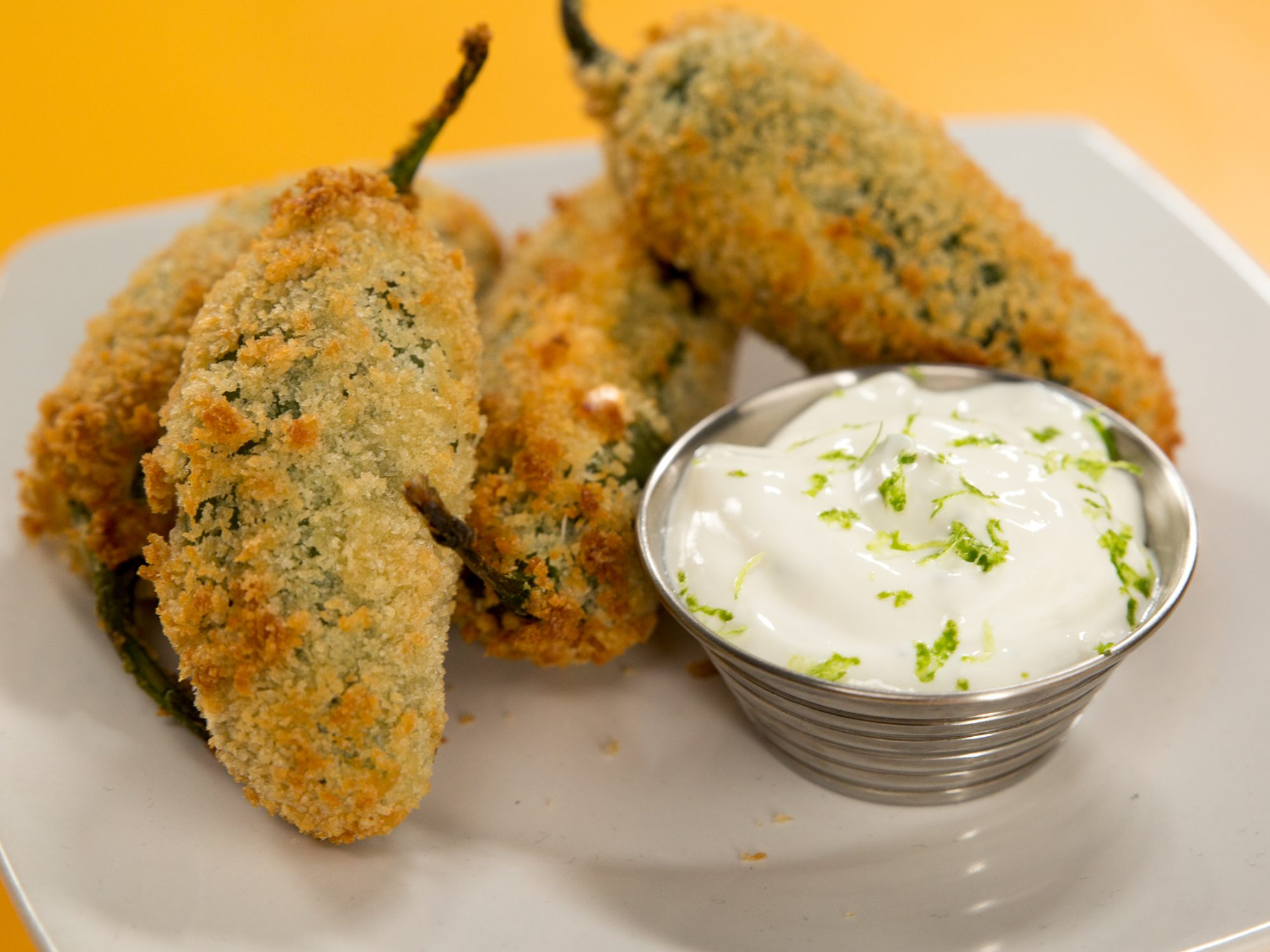 Air-Fried Jalapeño Poppers image