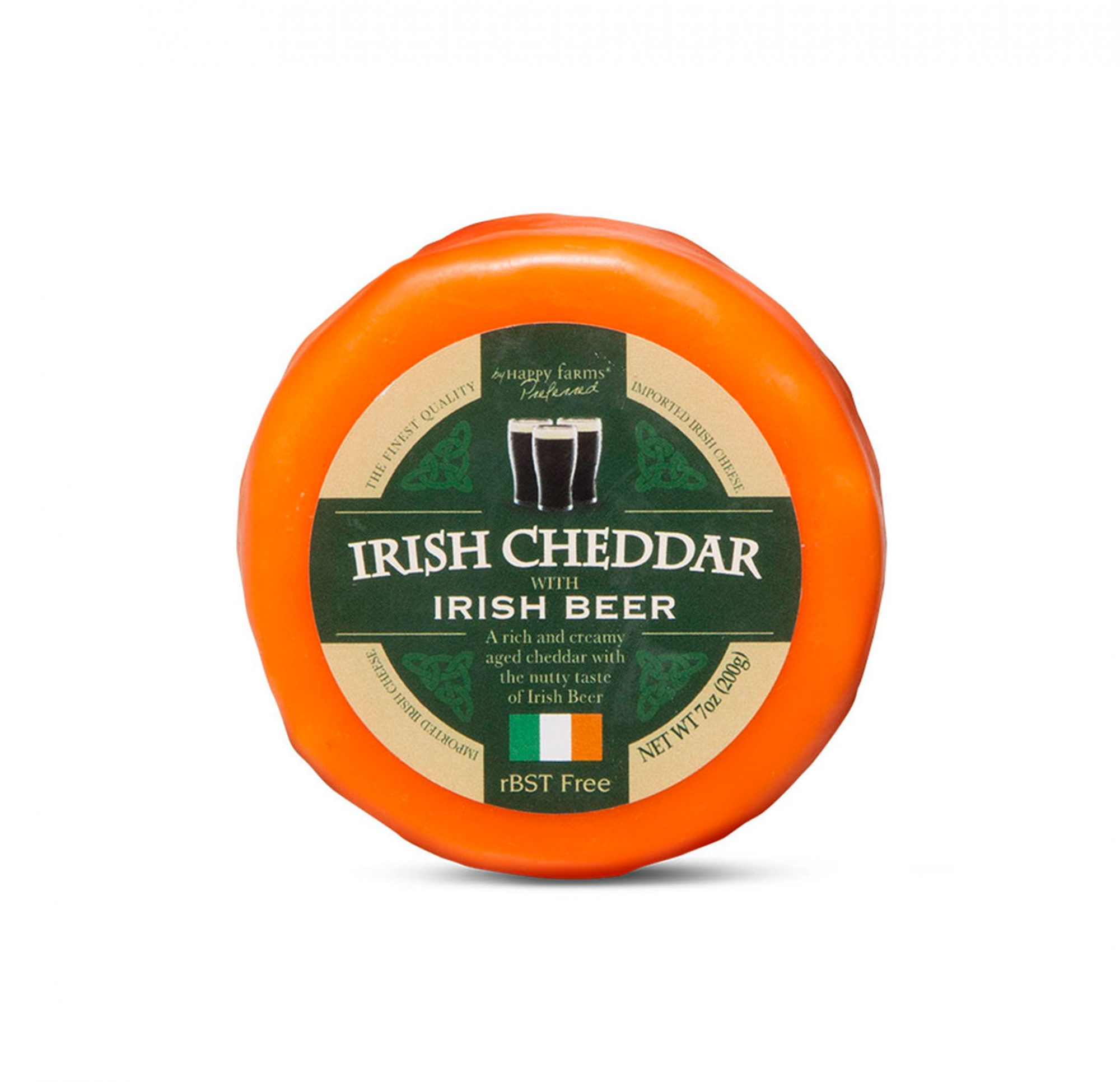 Aldi Debuts Green and Alcohol-Infused Cheeses For St. Patrick's Day cheese-2