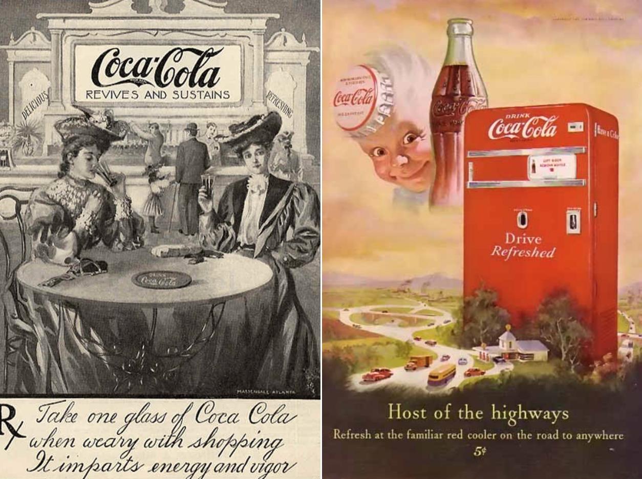 coke advertisements