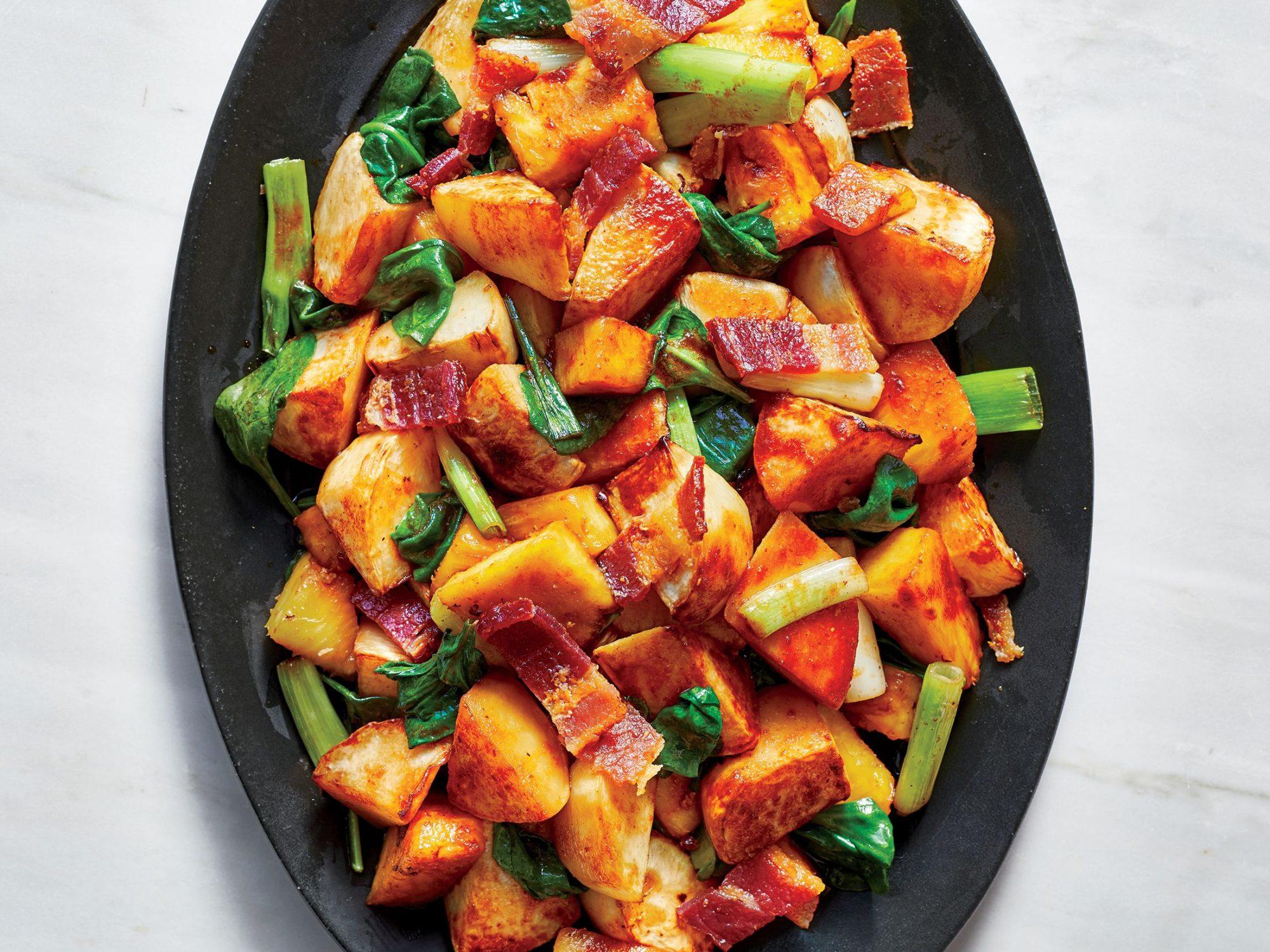 Stir-Fried Turnips