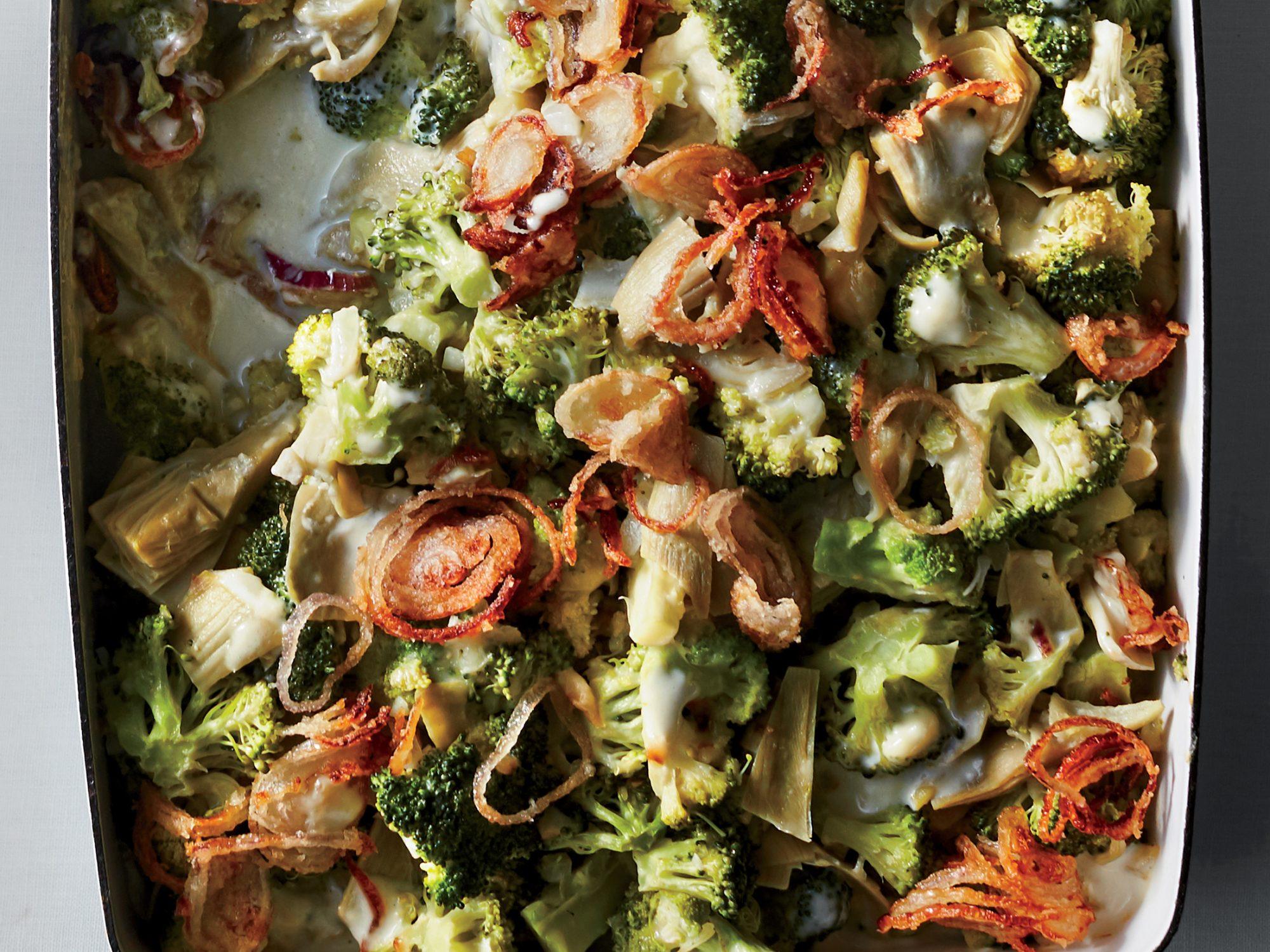 Broccoli-Artichoke Casserole
