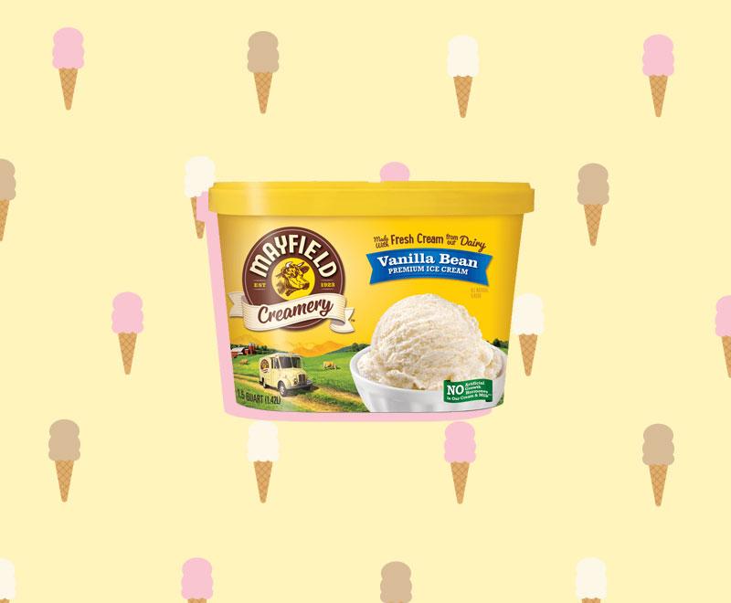 Mayfield Creamery Ice Cream