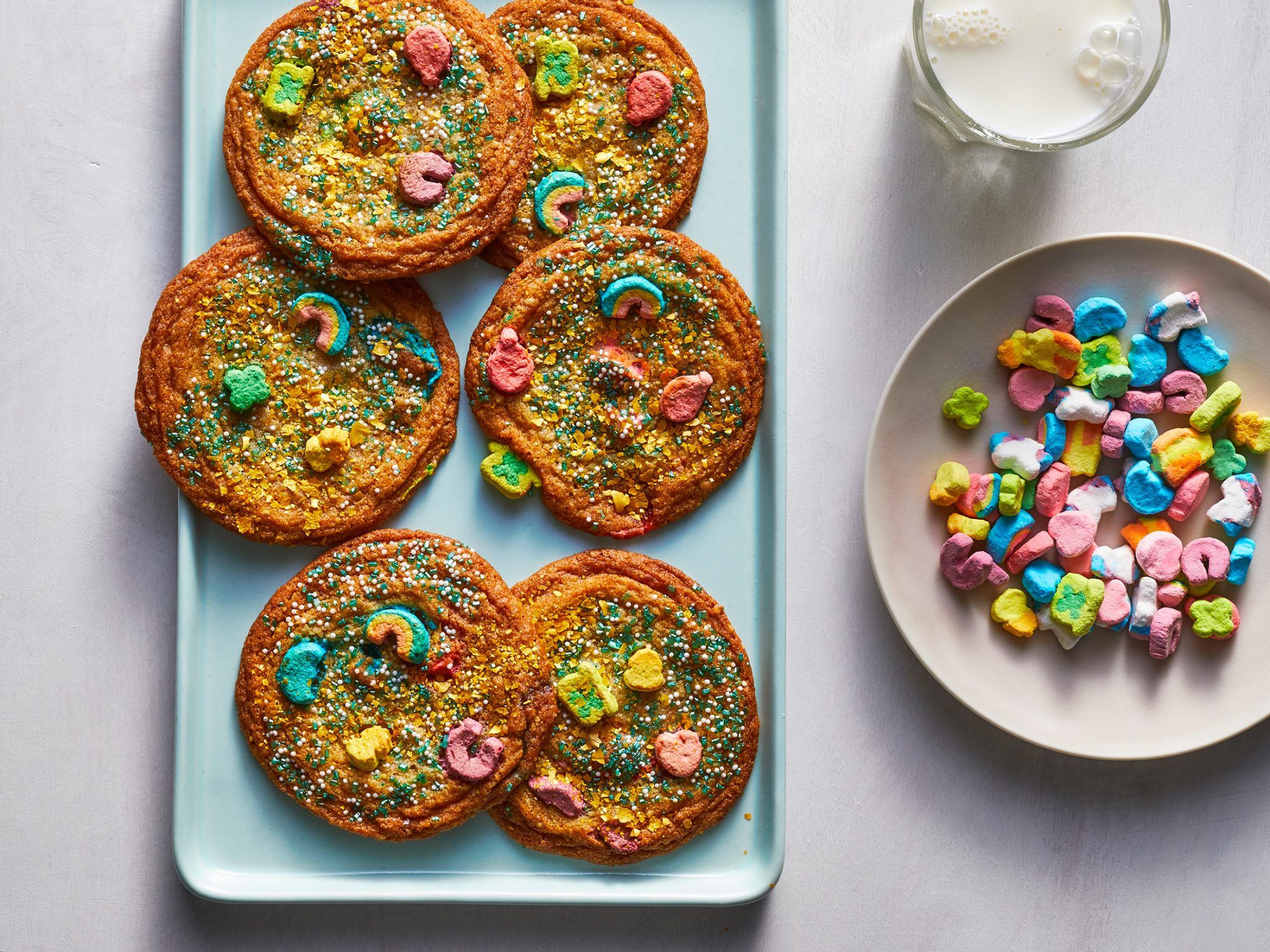Lucky Charms Cookies image
