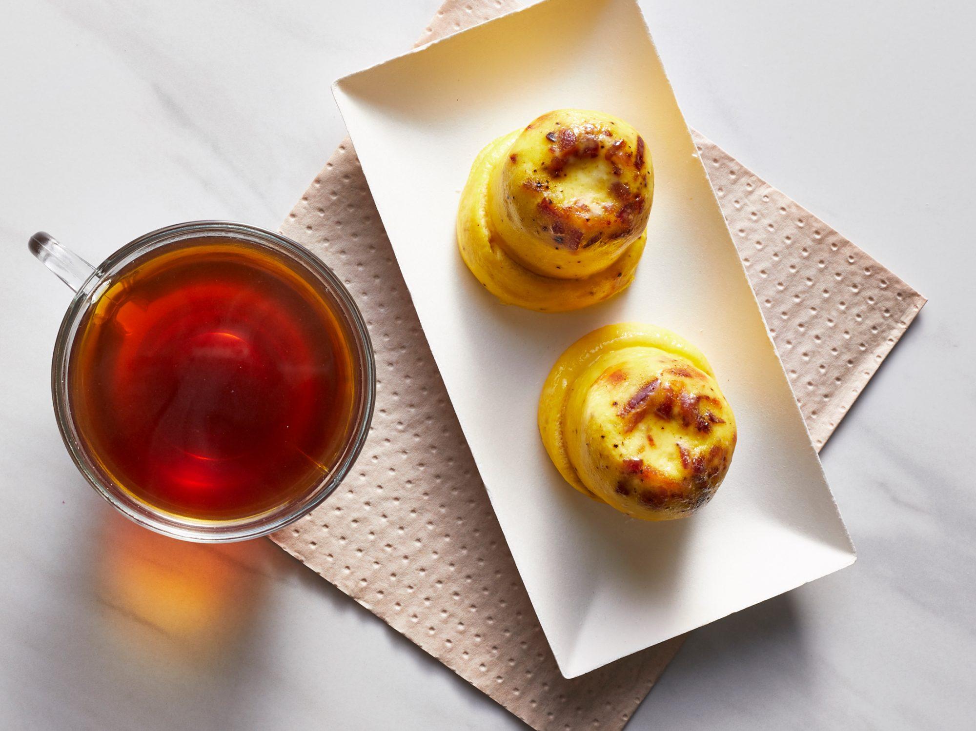 Copycat Starbucks Bacon & Gruyère Egg Bites image