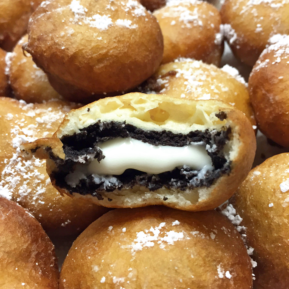 Deep-Fried Oreos