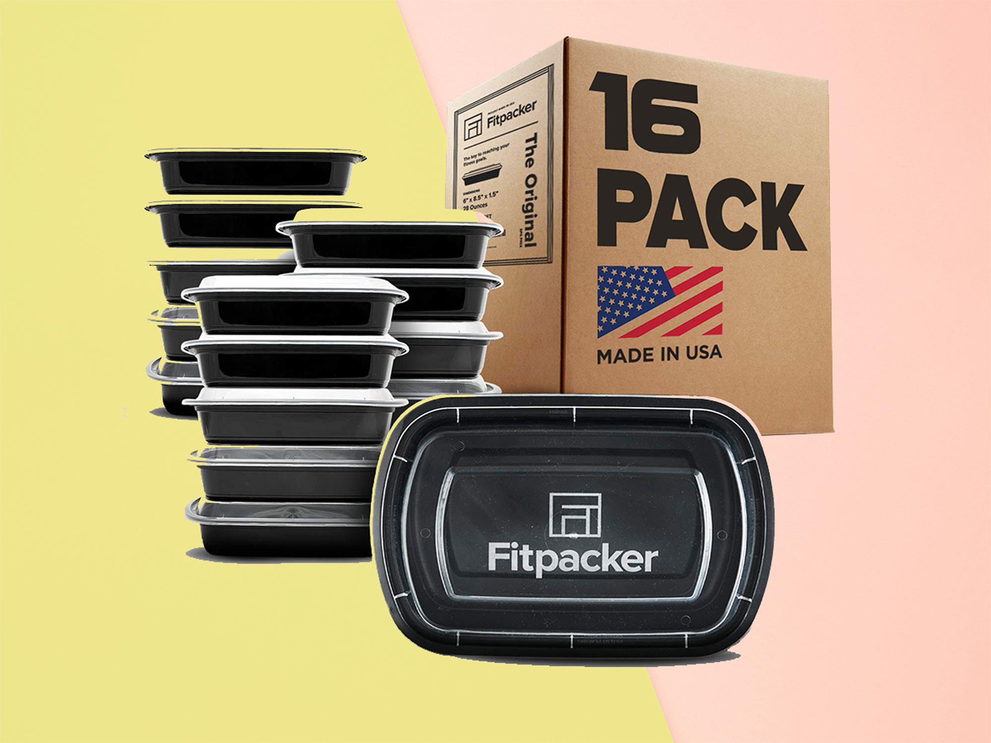 These Are the Highest-Rated Meal Prep Containers on Amazon Prime meal-prep-container-1