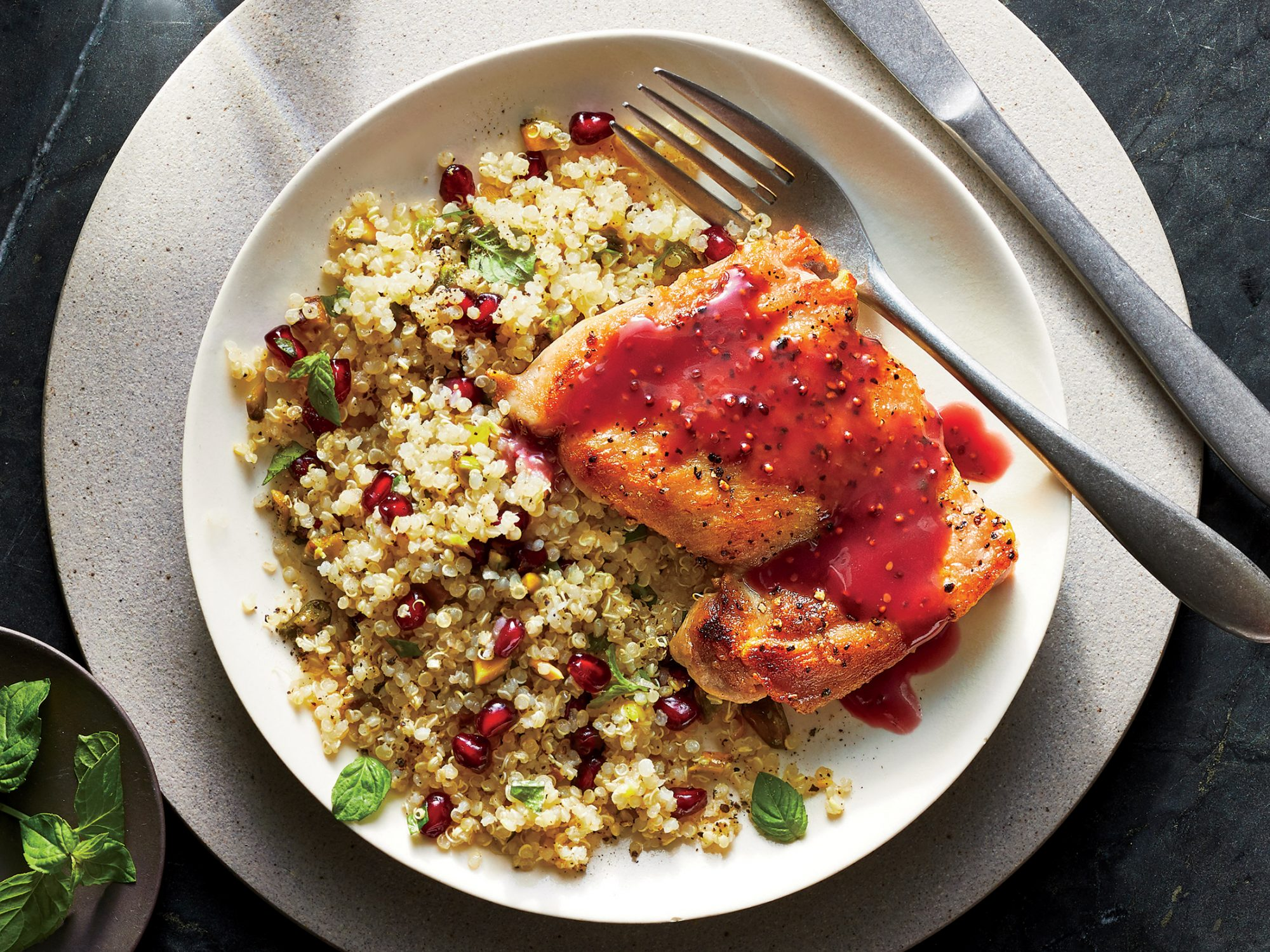 Pomegranate-Glazed Chicken