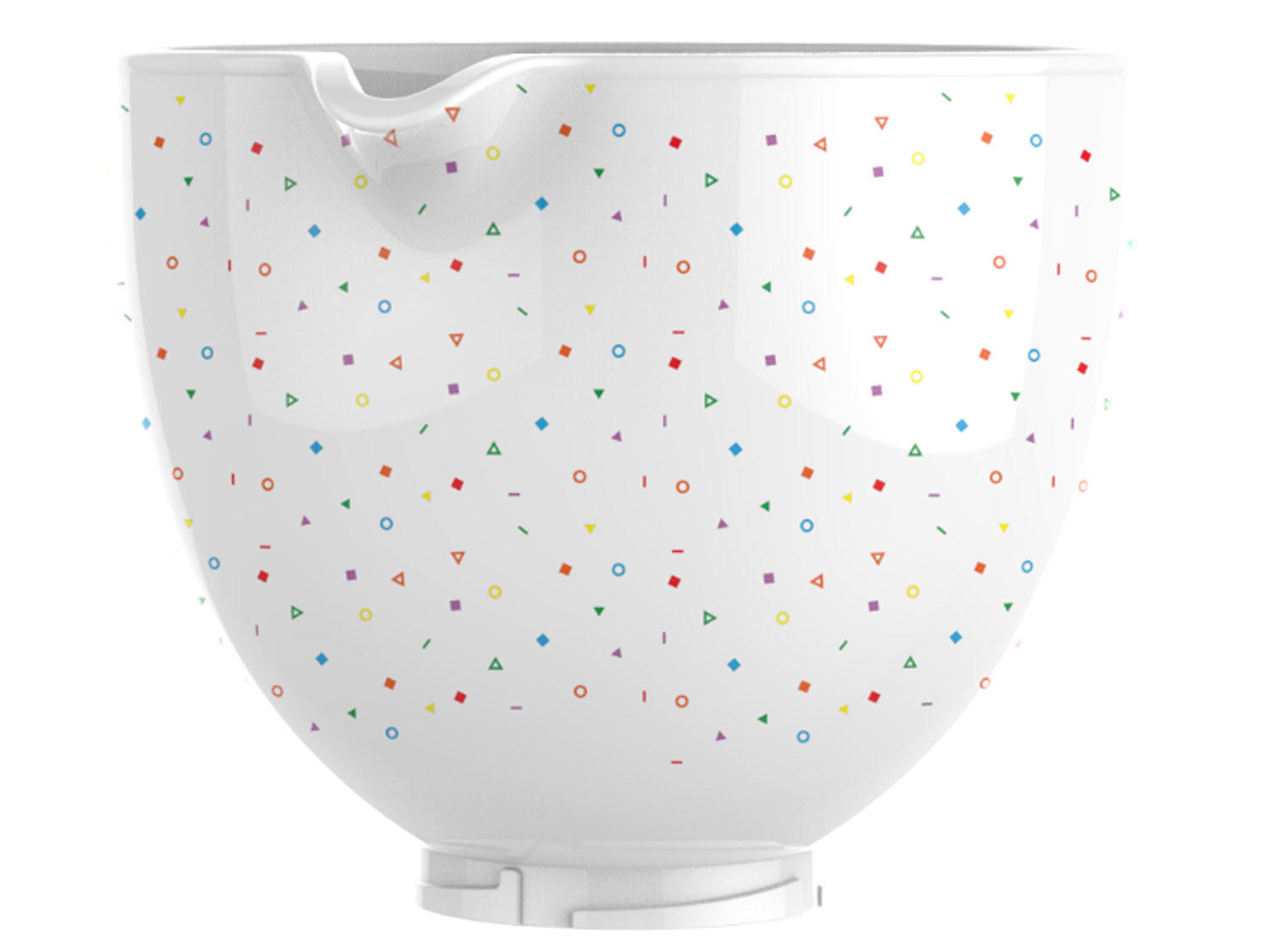 KitchenAid Is Releasing 5 New Bowl Designs, So You Can Make Your Stand Mixer Look Even Cuter KA_Confetti_Sprinkle_Bowl_Limbo-%283%29