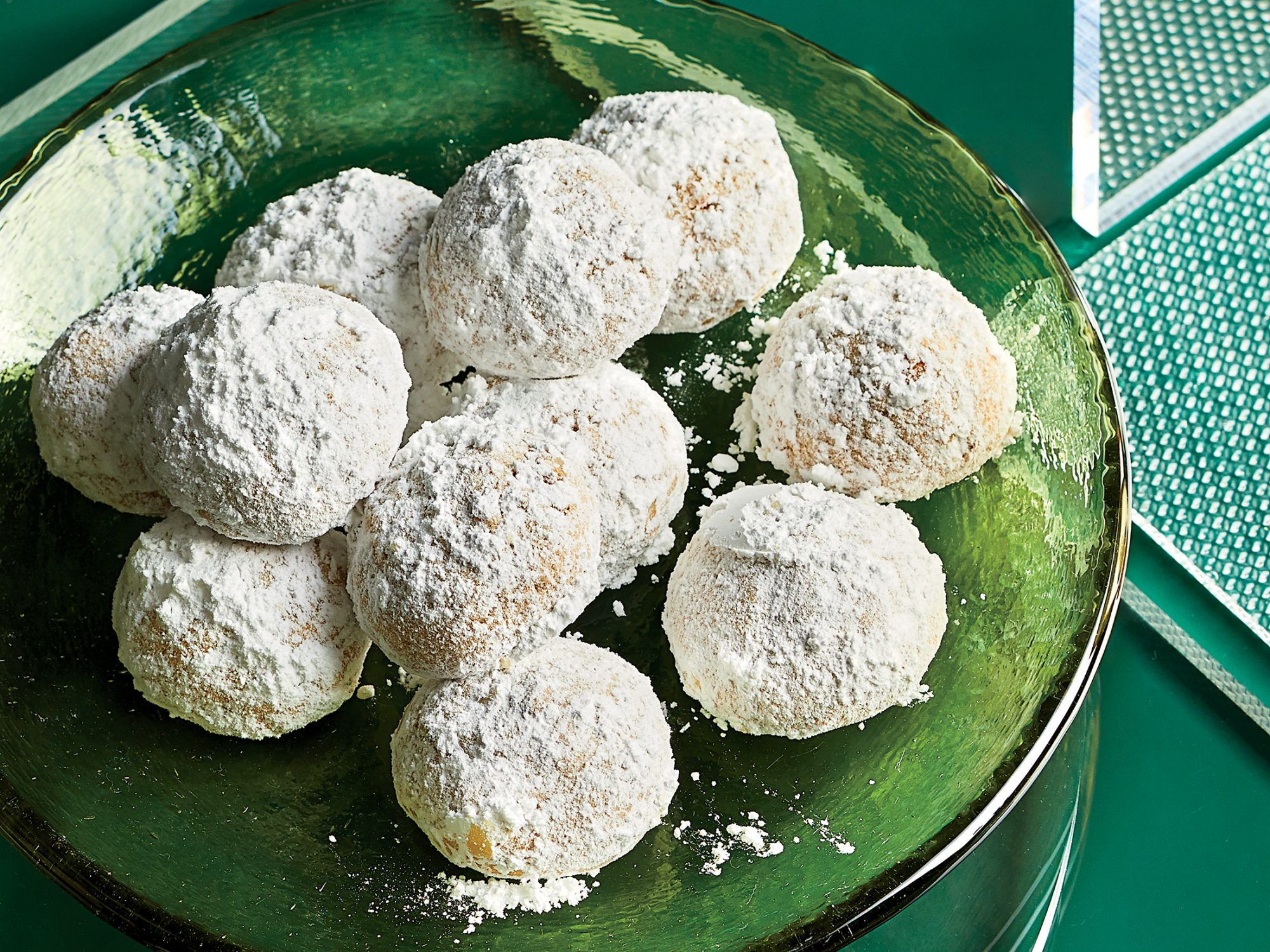 Pine Nut–Meyer Lemon Snowballs