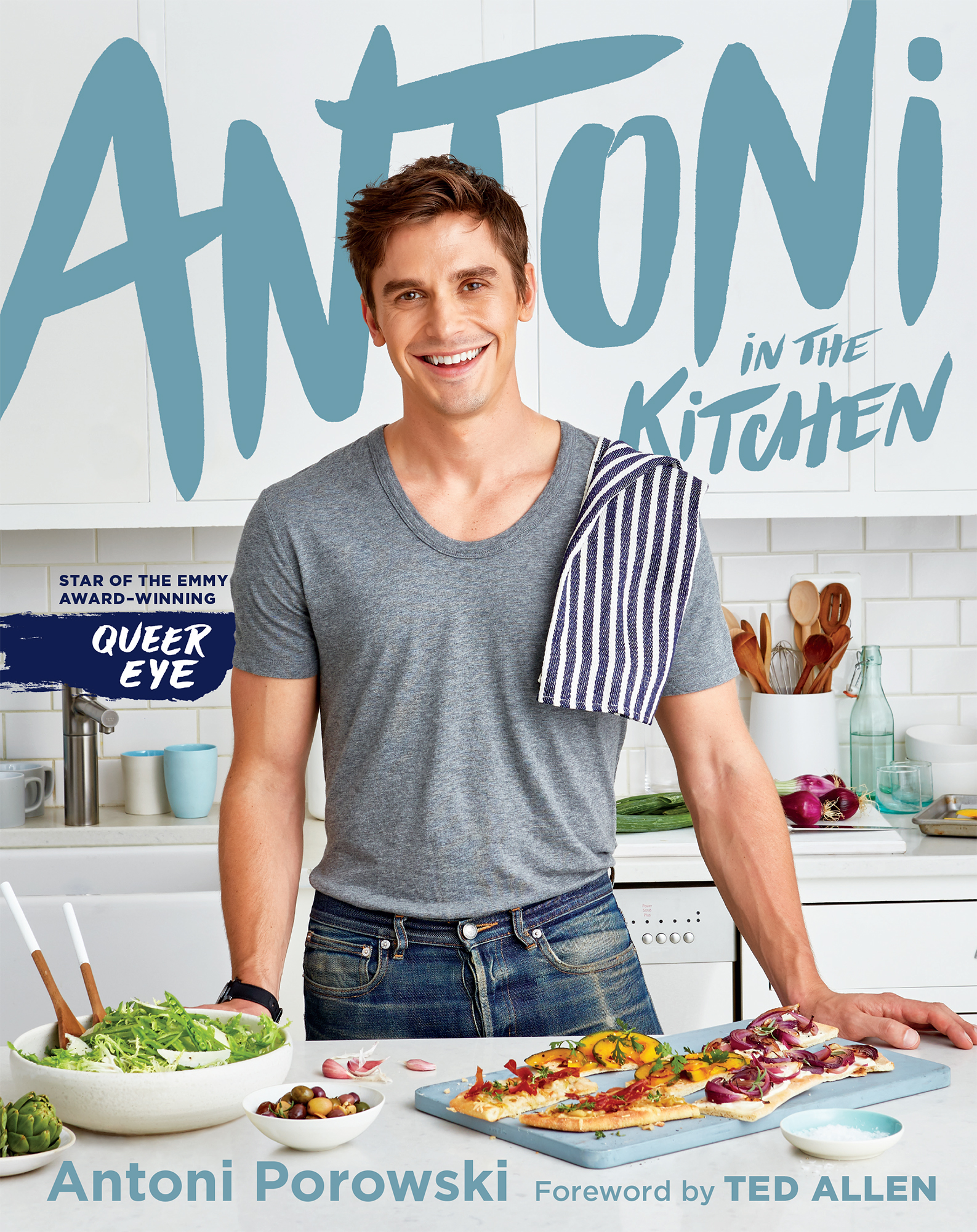 Antoni Porowski Says His Debut Cookbook Will Be 'Very Personal'—Get a First Look at the Cover! antoni