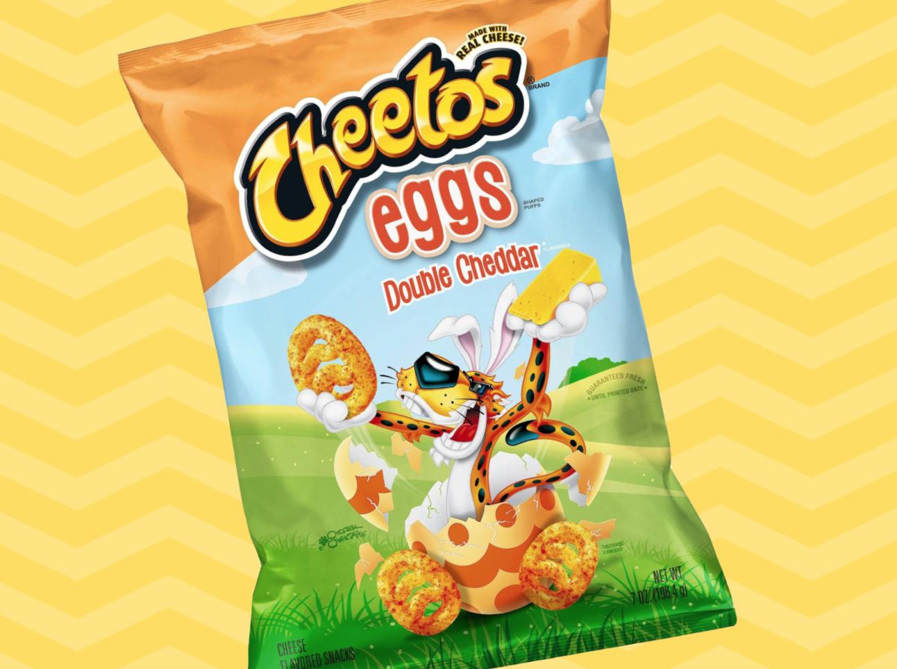 Cheetos eggs