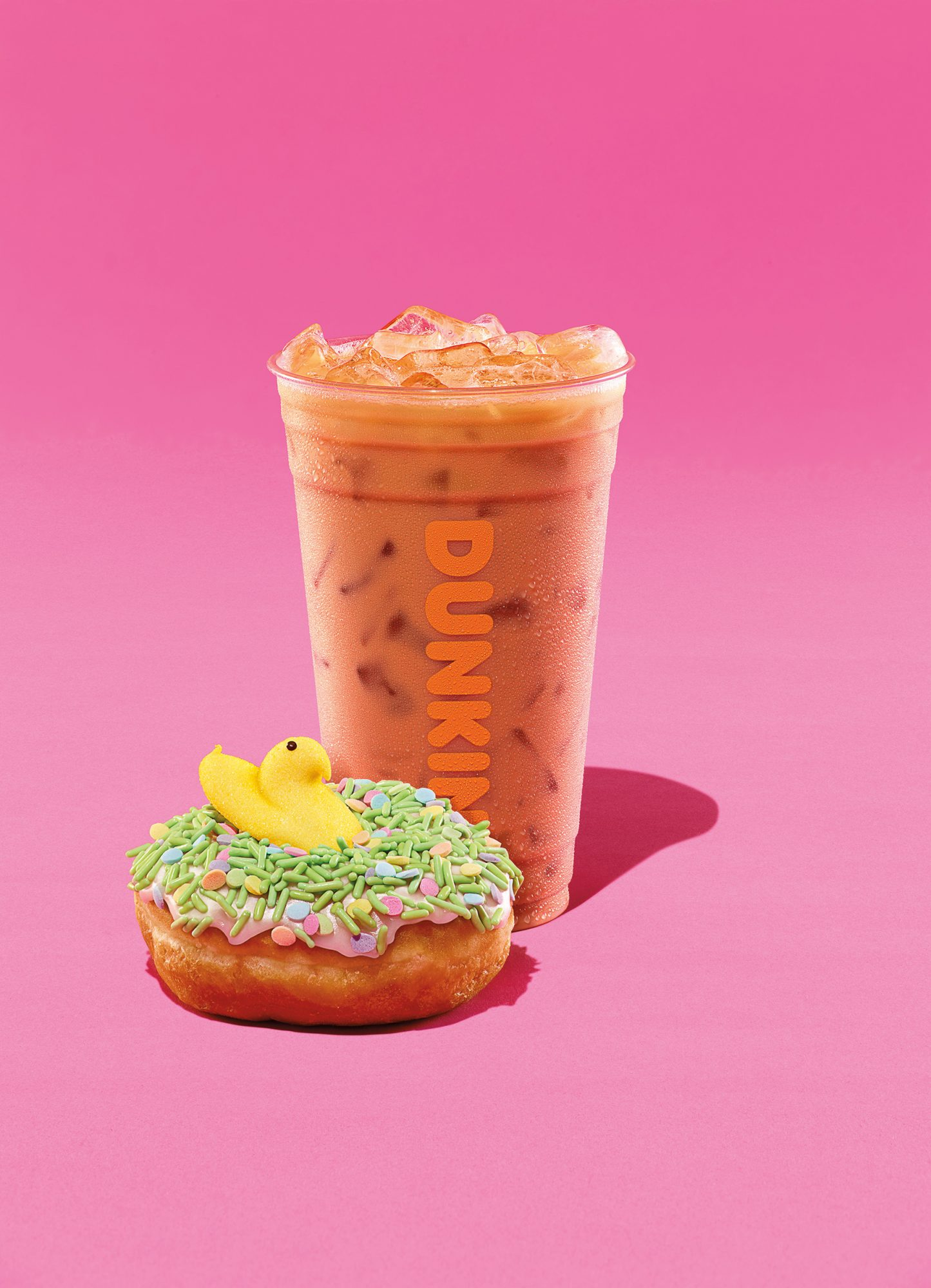 Hop to It! Peeps-Flavored Coffee and Donuts Are On Their Way to Dunkin' Donuts peeps