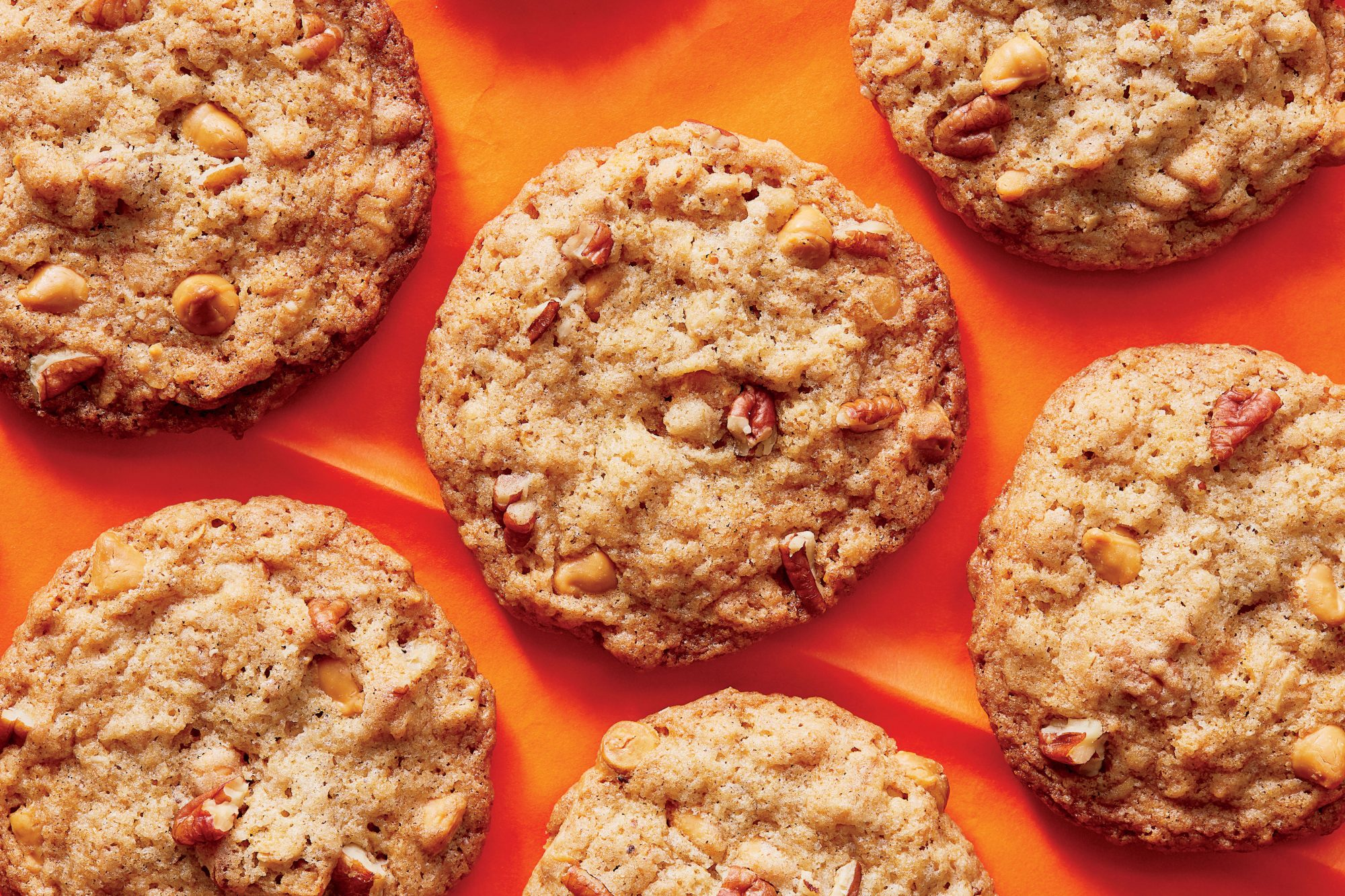 Butterscotch-Toasted Oatmeal Cookies