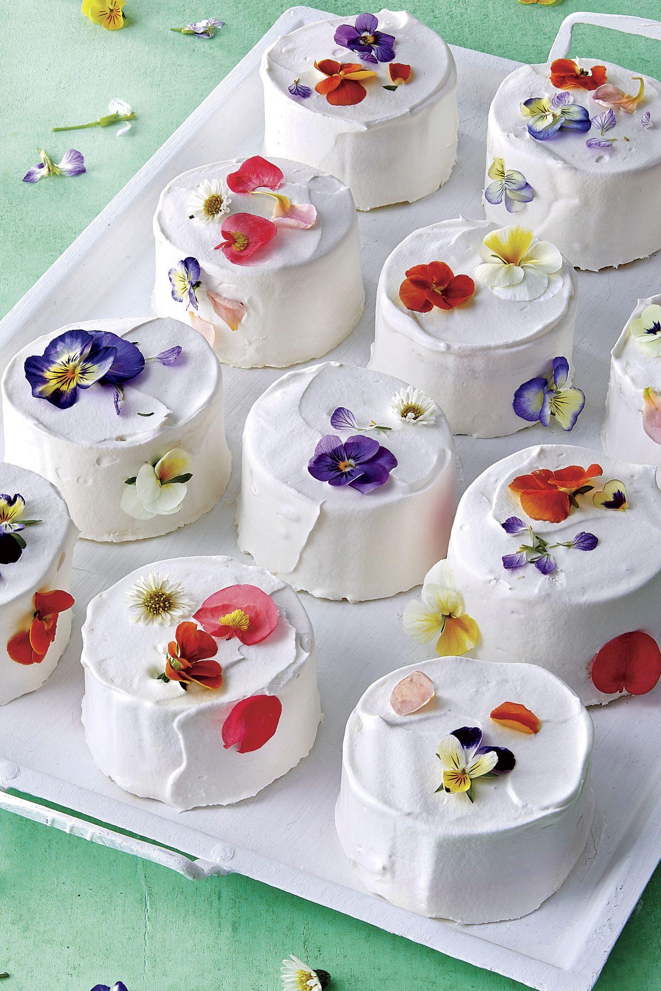 Mini Confetti Cakes