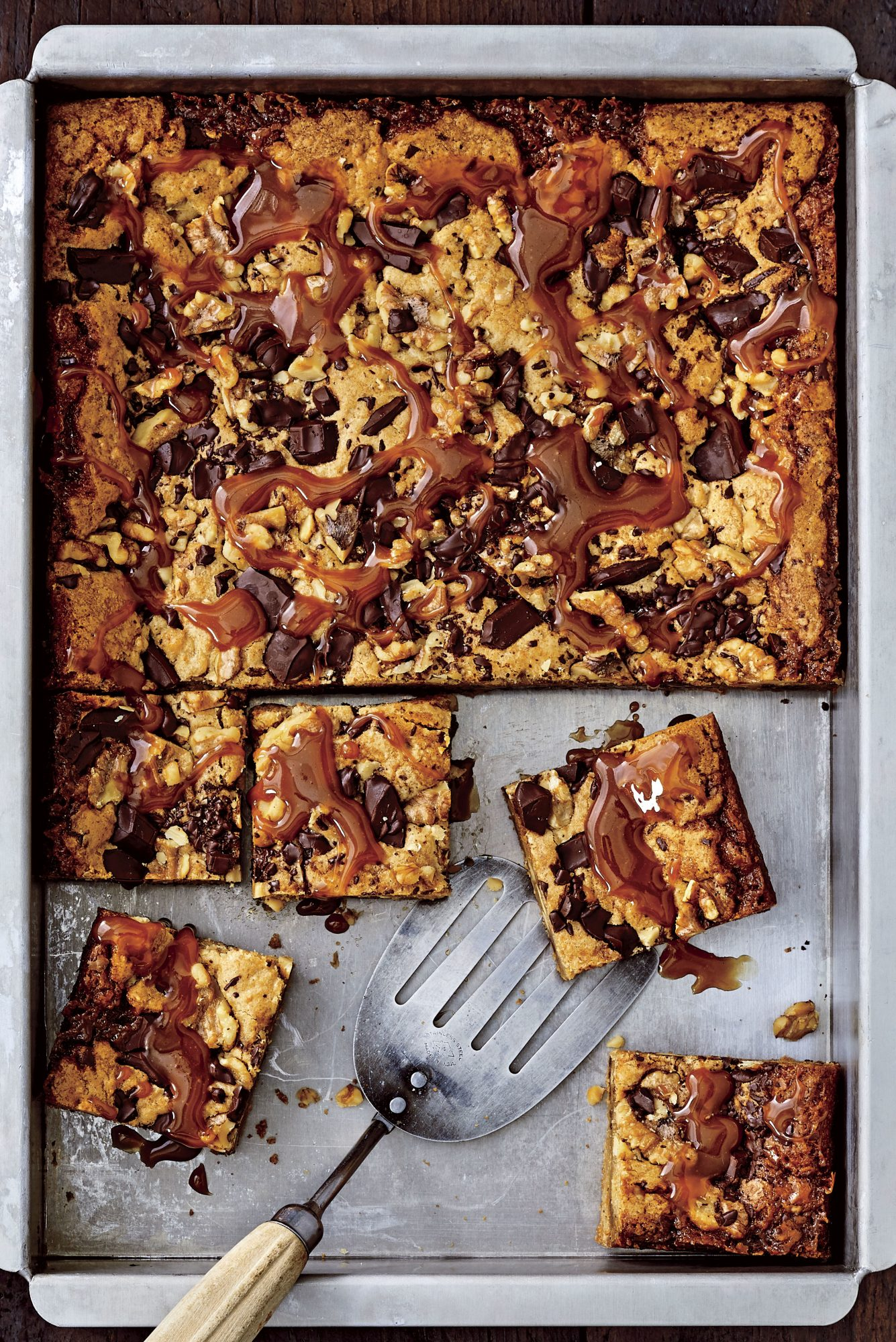 Brown Butter-Caramel Blondies