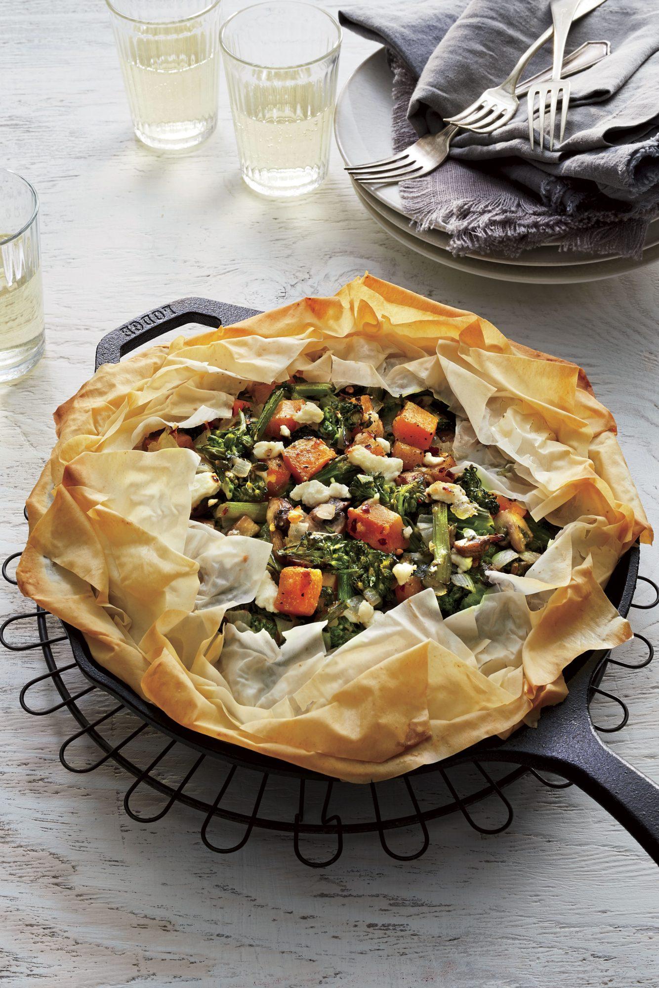 Skillet Vegetable Pie