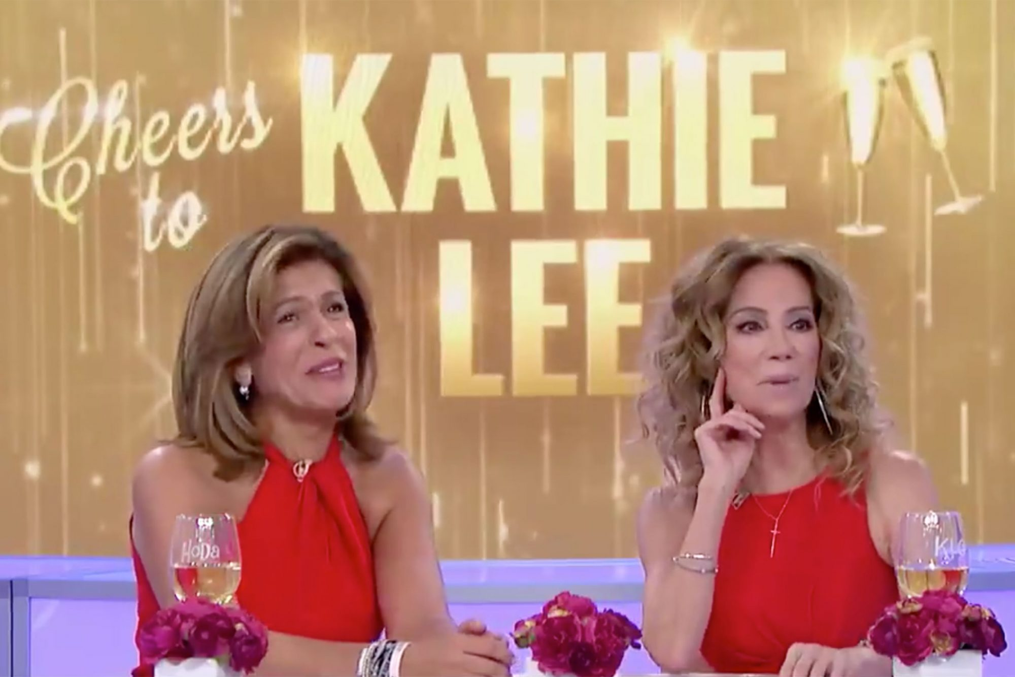 Watch Kathie Lee Gifford and Hoda Kotb Learn the Total Amount of Wine They've Consumed on Today kathie-lee-today