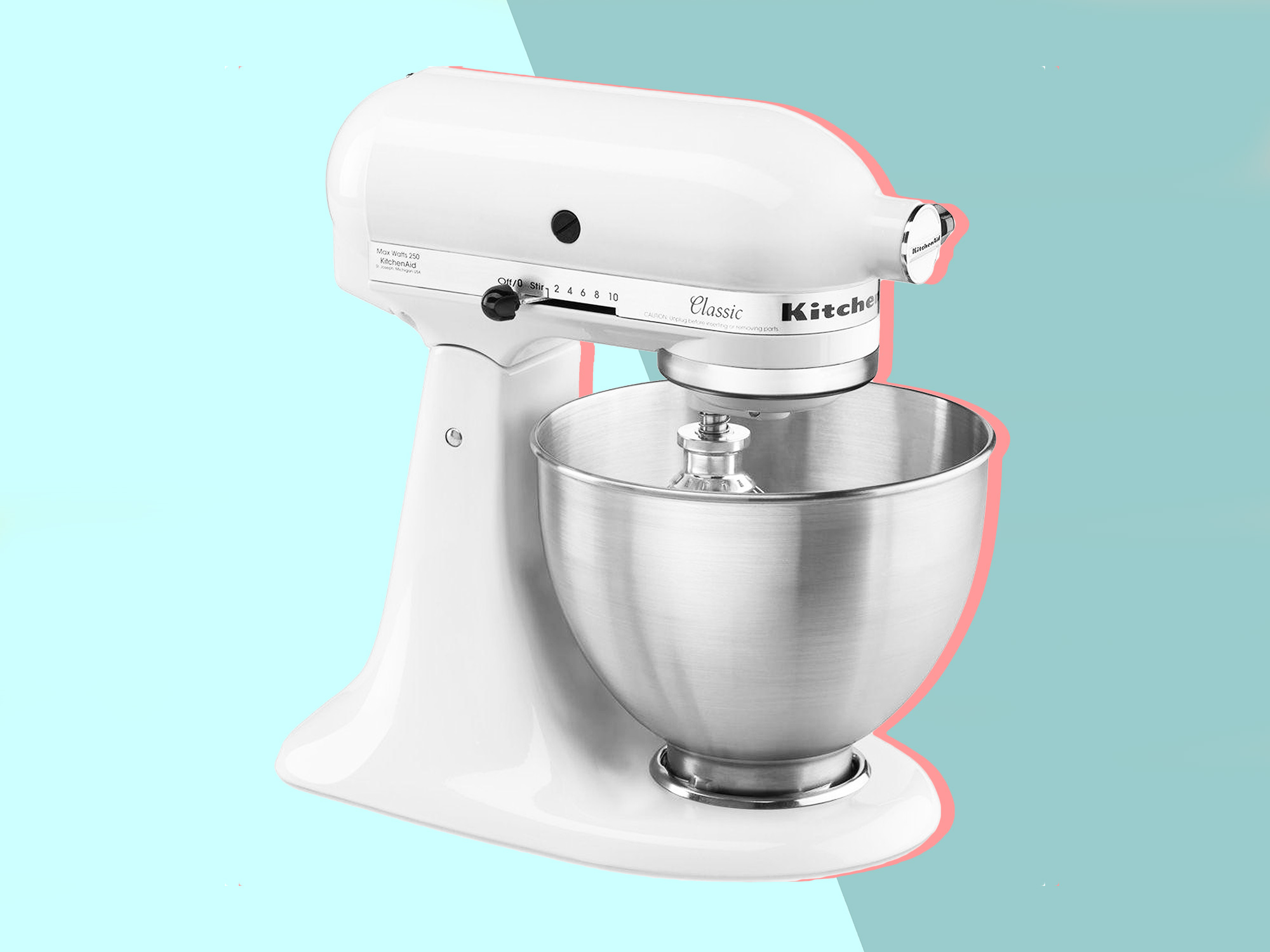 This Is the Most Common KitchenAid Mixer Malfunction—And How to Fix It
