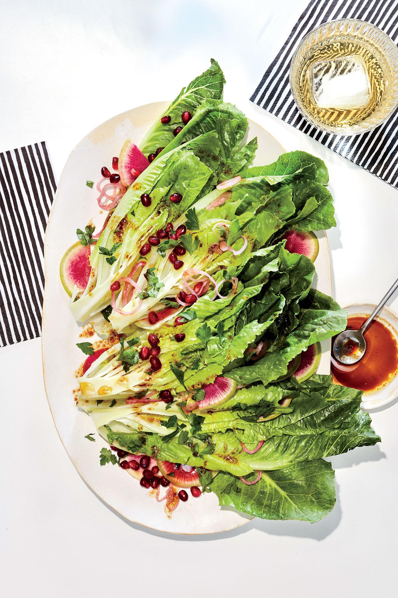 Crunchy Greens with Radish