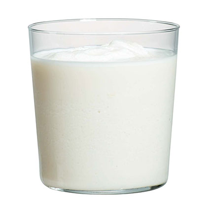 Icy Vanilla-Rum Malted Milkshake