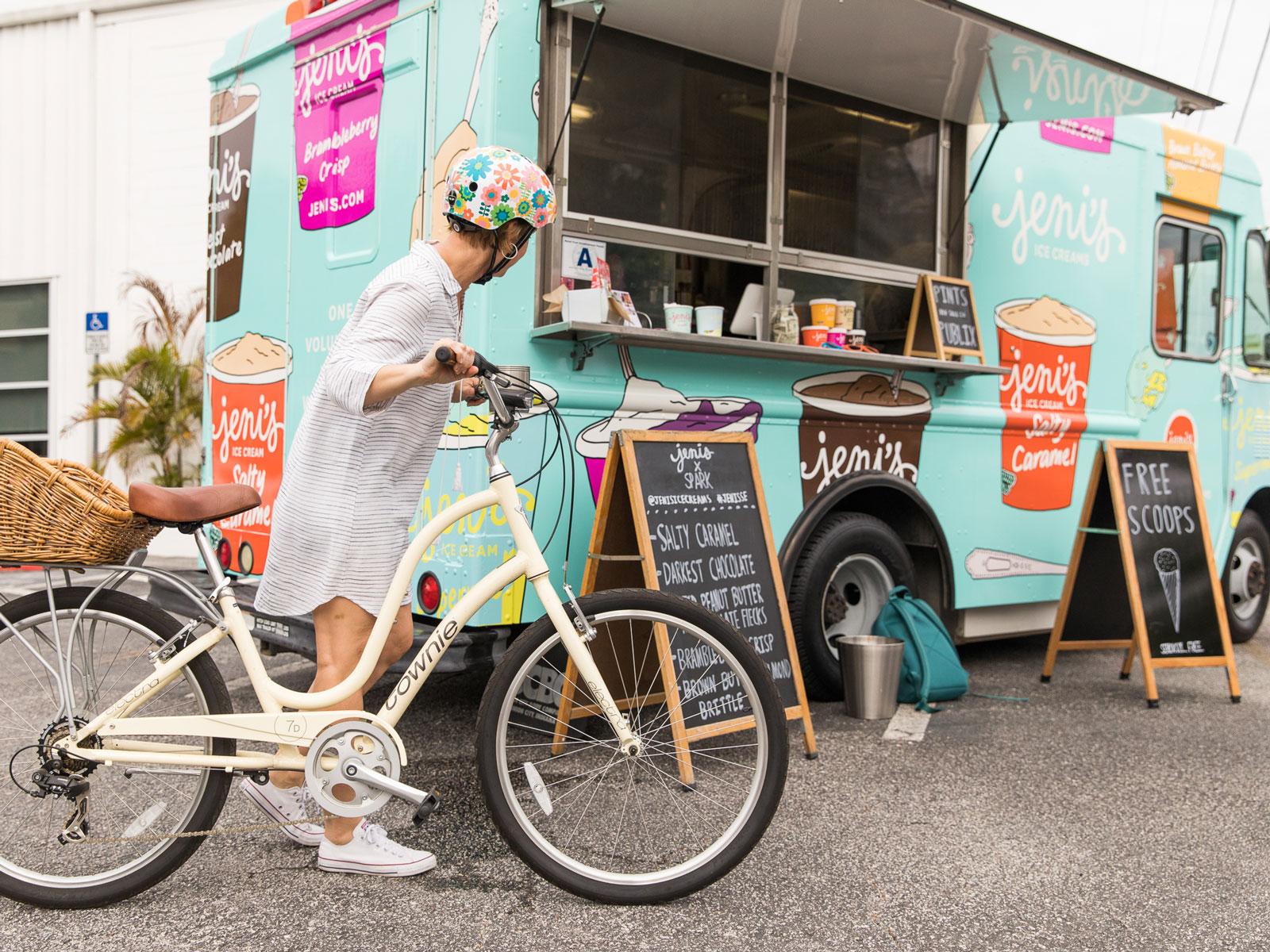 Jeni's Splendid Ice Cream Truck.