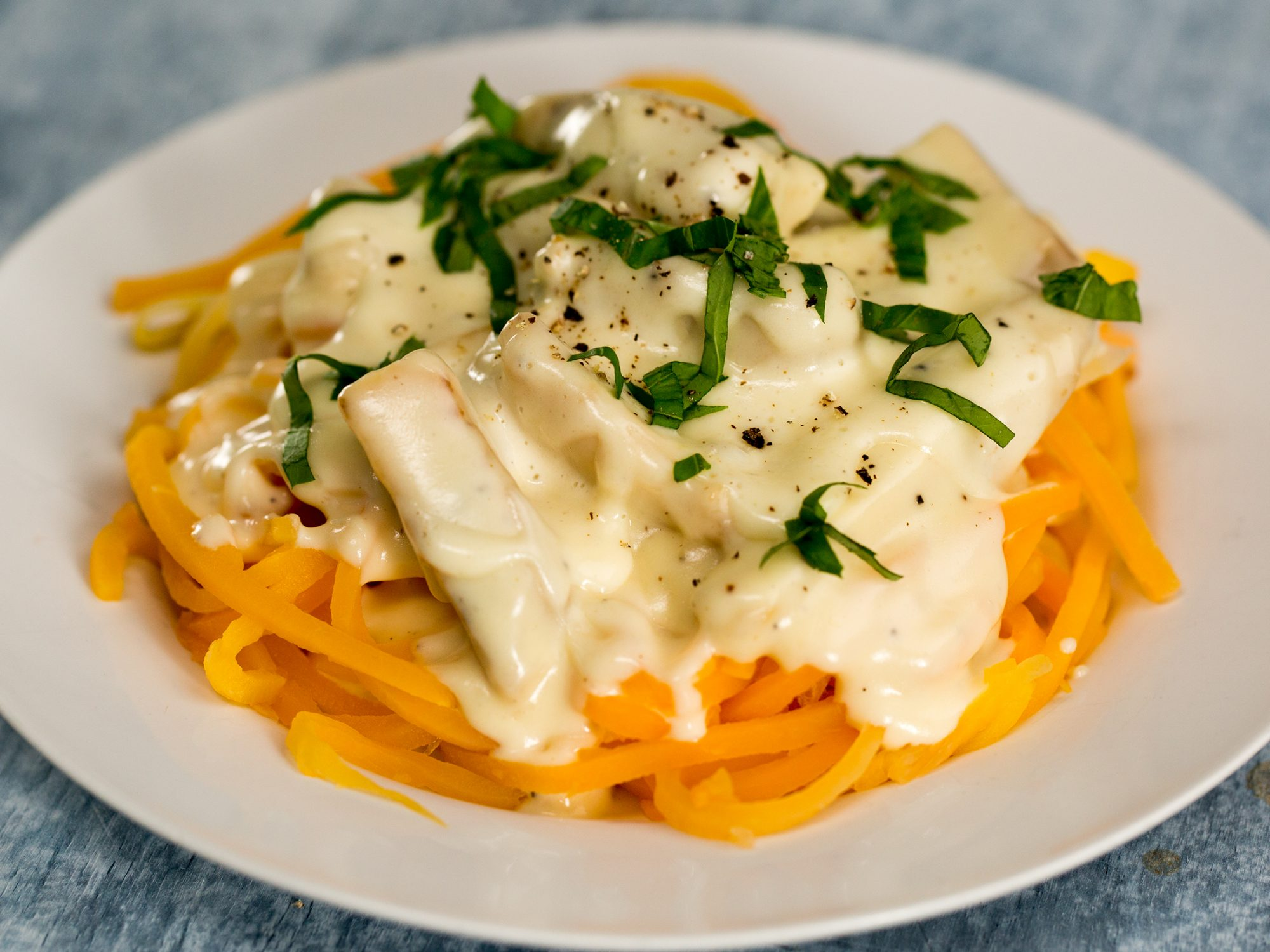 Keto Alfredo With Grilled Chicken image