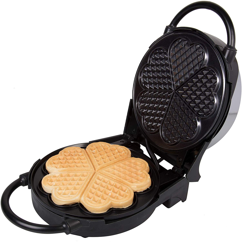 heart waffle maker gift guide