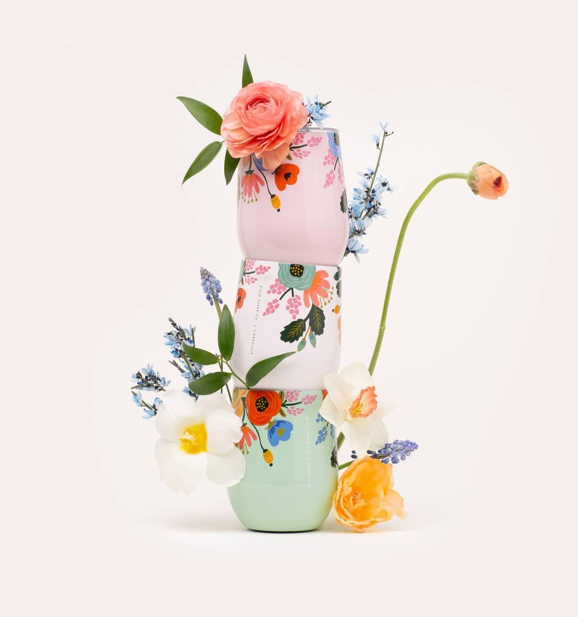 floral wine mug gift guide