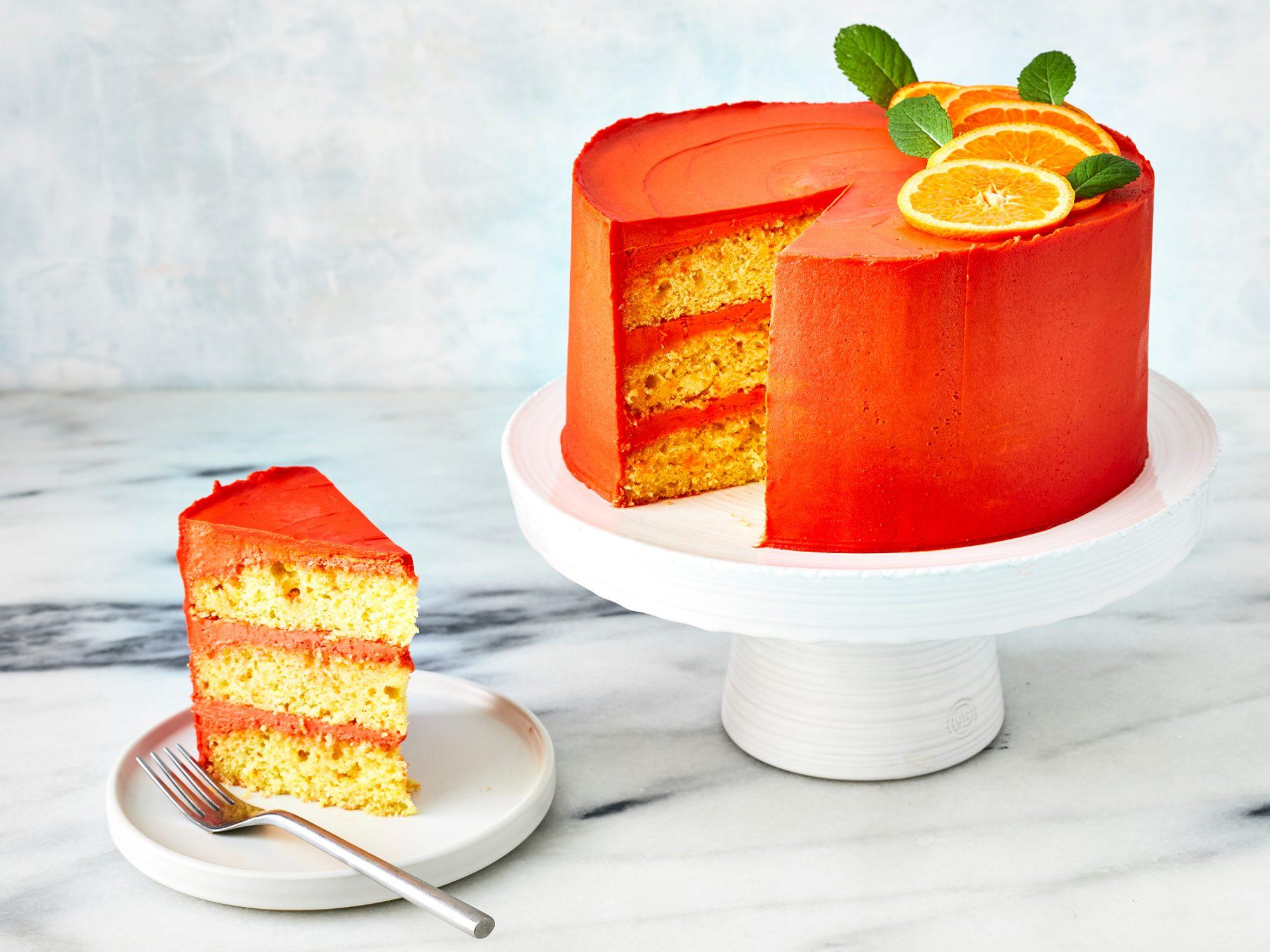 Aperol Spritz Cake image