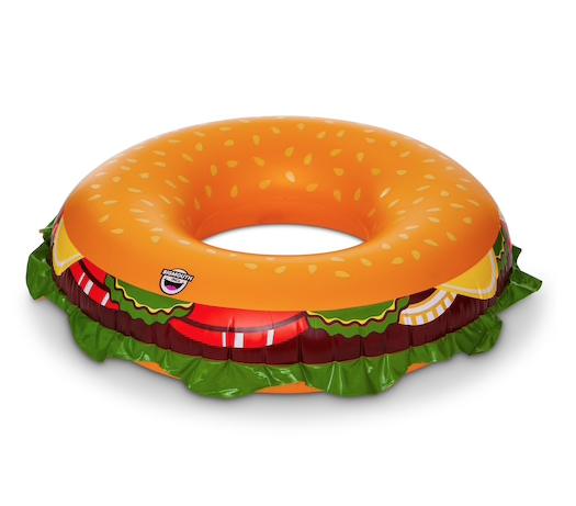 pool-float-burger