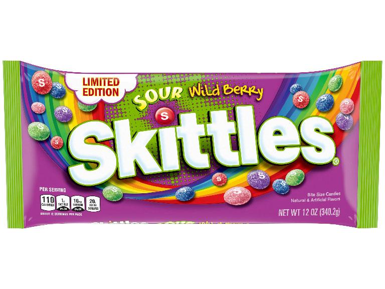 Skittles Freeze Pop