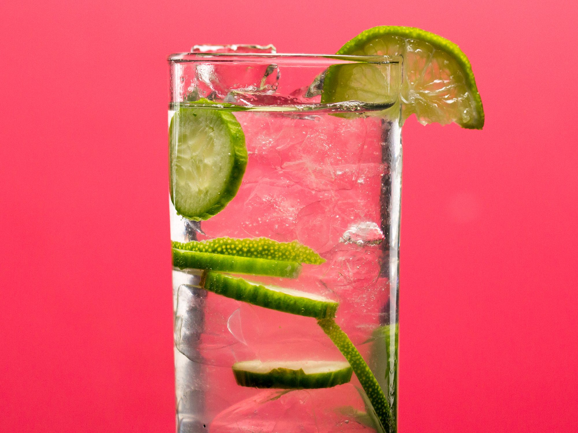Skinny Cucumber-Lime Gin And Tonic image