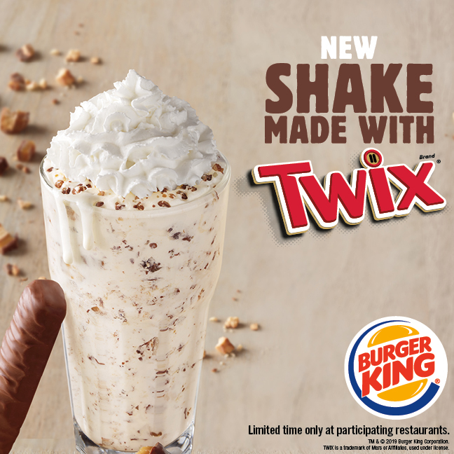 Burger King Twix