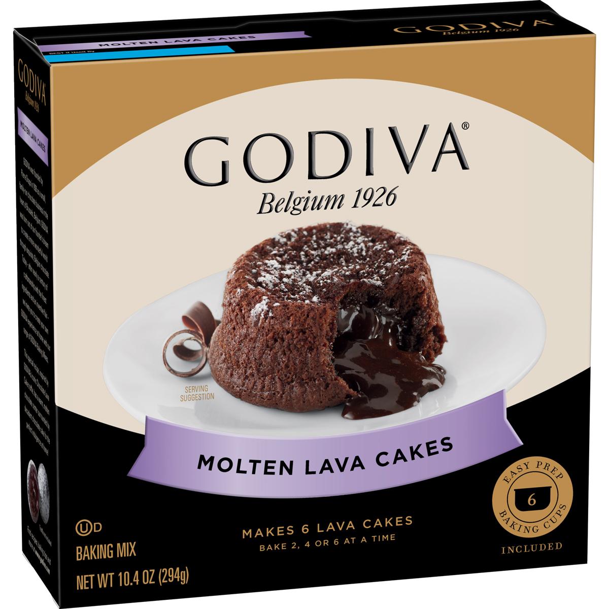 Godiva baking mixes