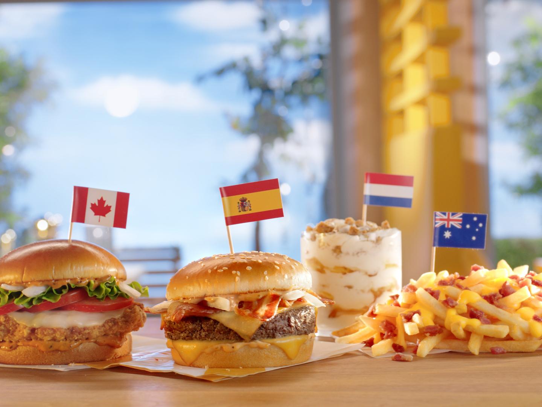 I Tried McDonald's 'Worldwide Favorites' Menu (Including the Stroopwafel McFlurry)