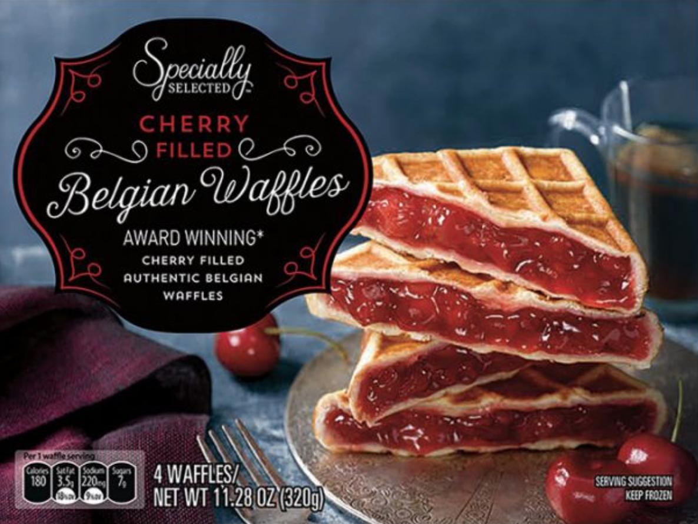 aldi-cherry-waffles