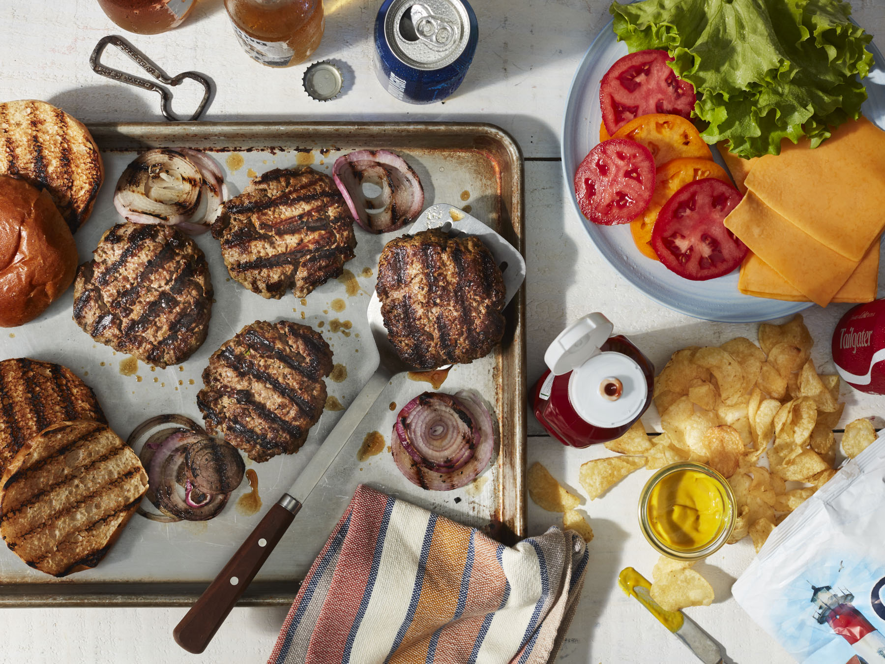 mr-Perfect Grilled Burgers