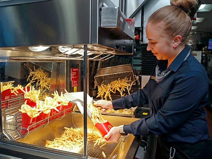 McDonald's Fry Robots