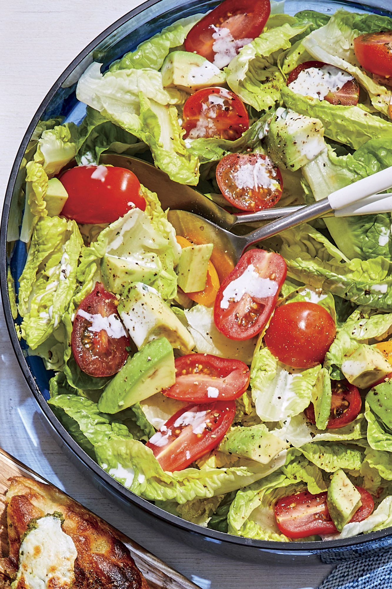 Quick Chopped Salad with Buttermilk Dressing
