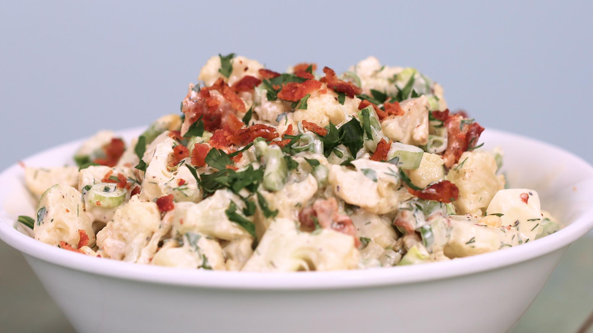 Cauli-Tater Salad image