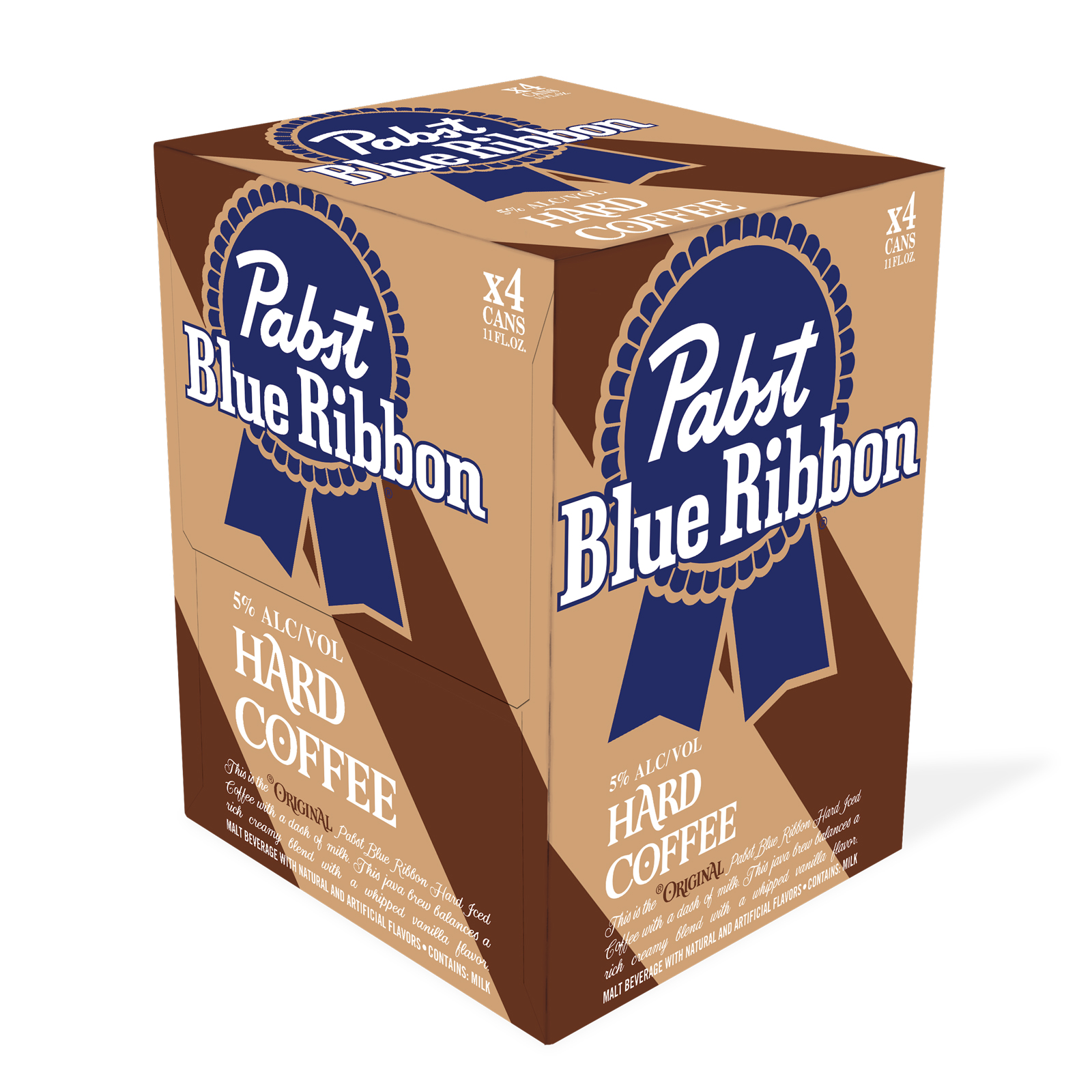 Pabst Blue Ribbon Releases Hard Coffee with 5-Percent ABV pbr-hard-coffee-pack-ft-BLOG0719